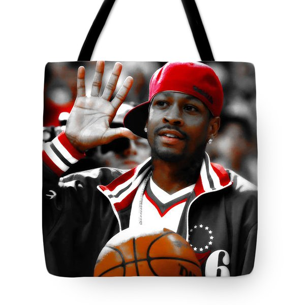 Allen Iverson The Legend Tote Bag
