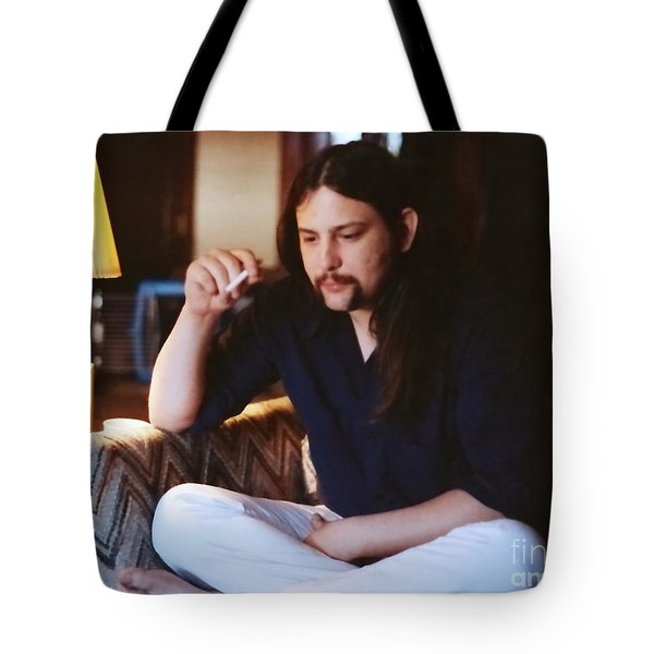 Tote Bag featuring the photograph Allen Ross by Jesse Ciazza