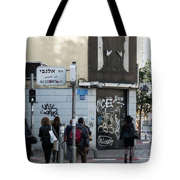 Allenby Street Tote Bag