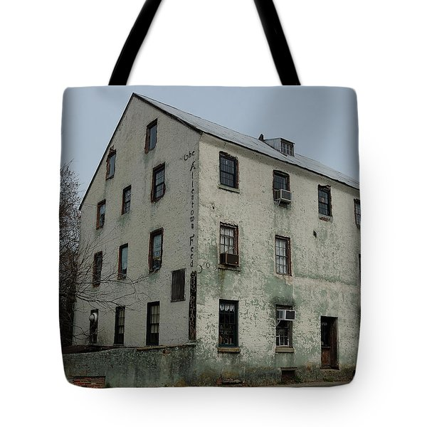 Tote Bag featuring the photograph Allentown Gristmill by Steven Richman