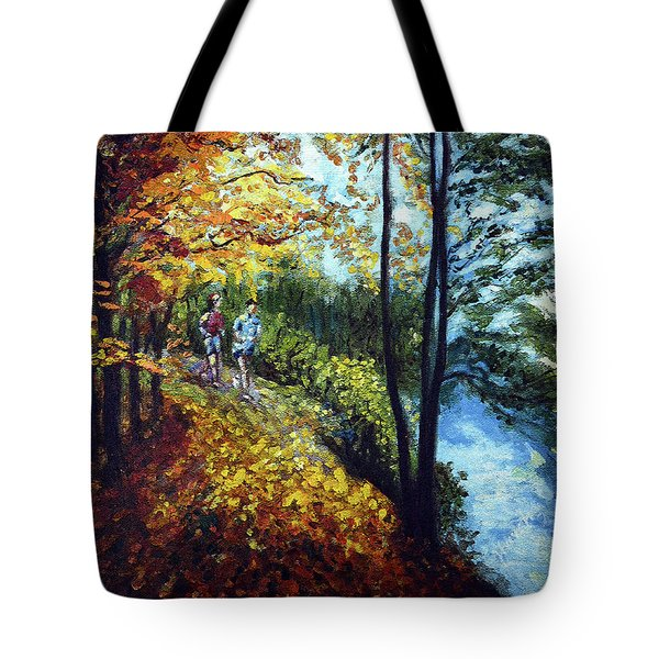 Alley By The Lake 1 Tote Bag