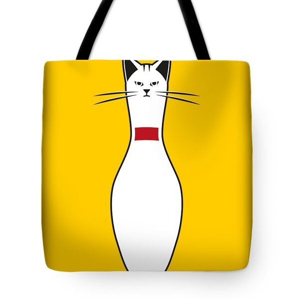 Alley Cat Tote Bag