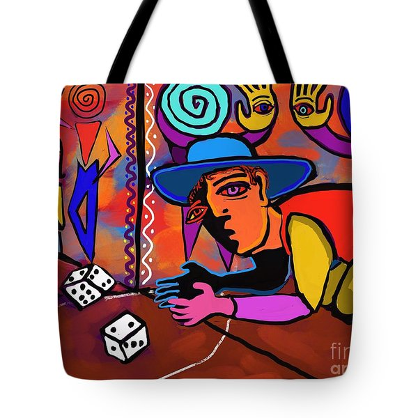 Alley Game Tote Bag