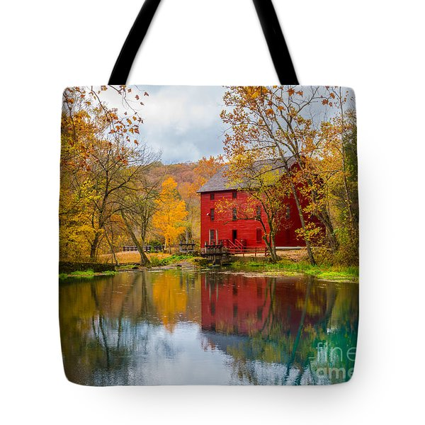 Alley Mill And Spring Tote Bag