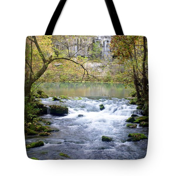 Alley Spring Branch 3 Tote Bag by Marty Koch