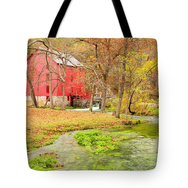 Alley Spring Tote Bag