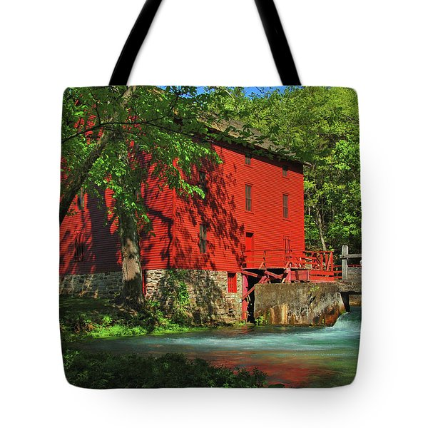 Alley Spring Mill Tote Bag