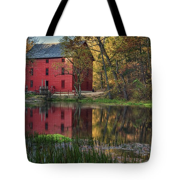 Alley Spring Mill Fall Mo Dsc09240 Tote Bag