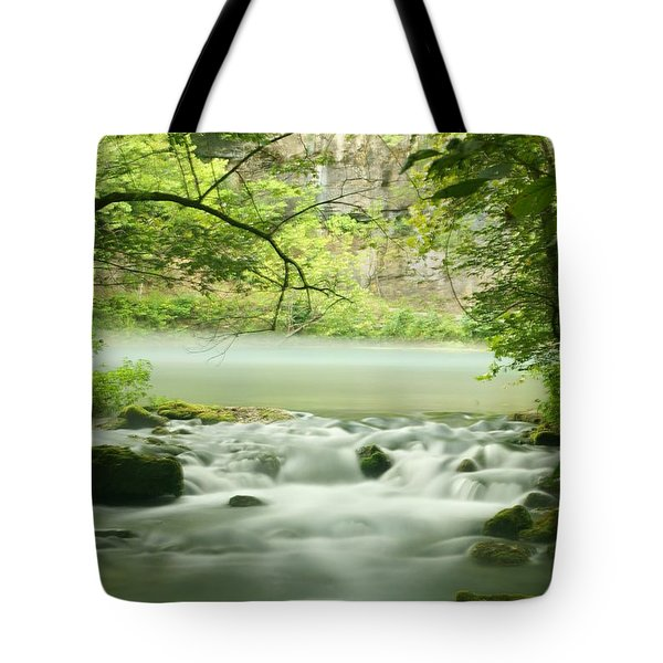 Alley Springs Tote Bag