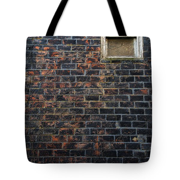 Alley Window Tote Bag