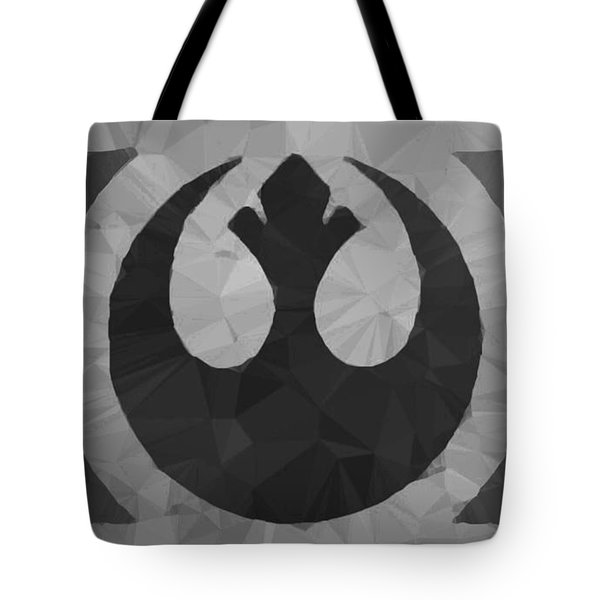 Tote Bag featuring the digital art Alliance Phoenix by Helge