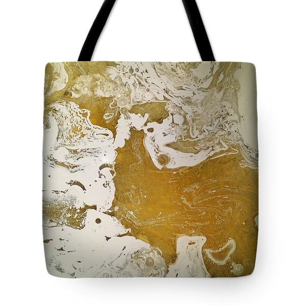 Alligator Head Amber Backflip Tote Bag