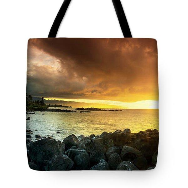Alligator Rock Sunset Tote Bag