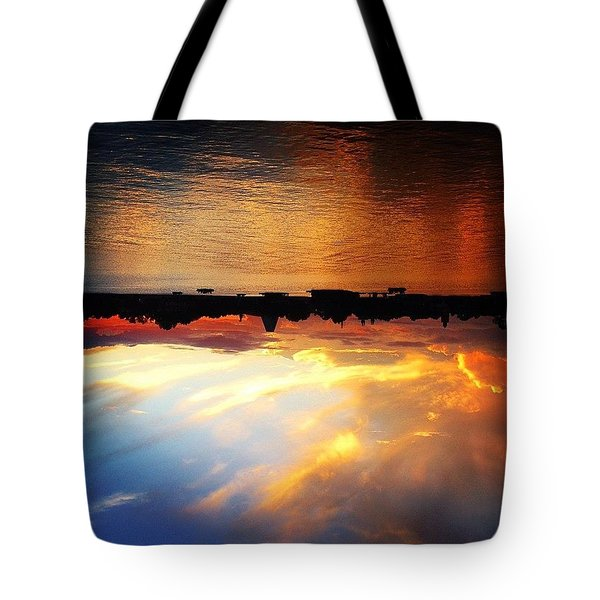 All Depends On How You Look At It Tote Bag