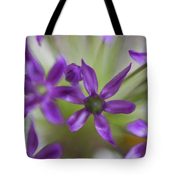 Allium Aflatunense Tote Bag