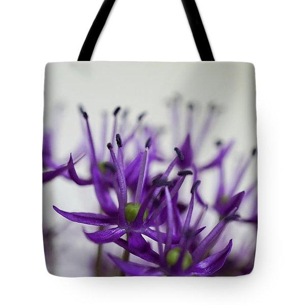 Allium Aflatunense Sideview Tote Bag