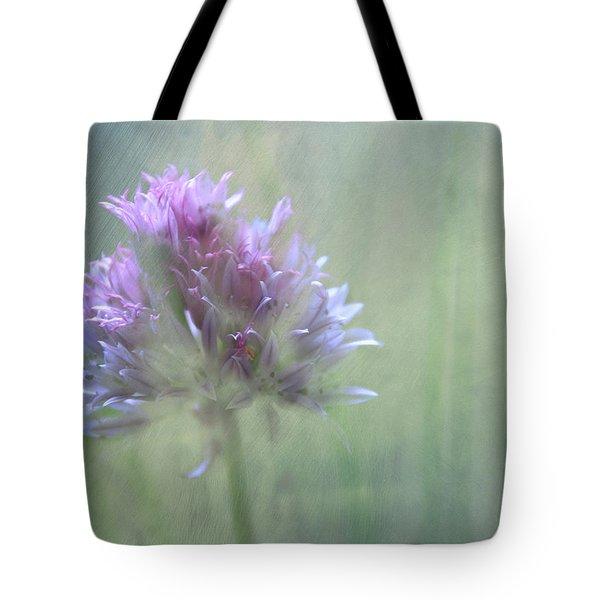 Allium Impressionism Tote Bag