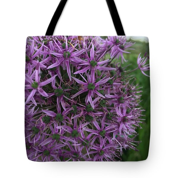 Allium Stars  Tote Bag