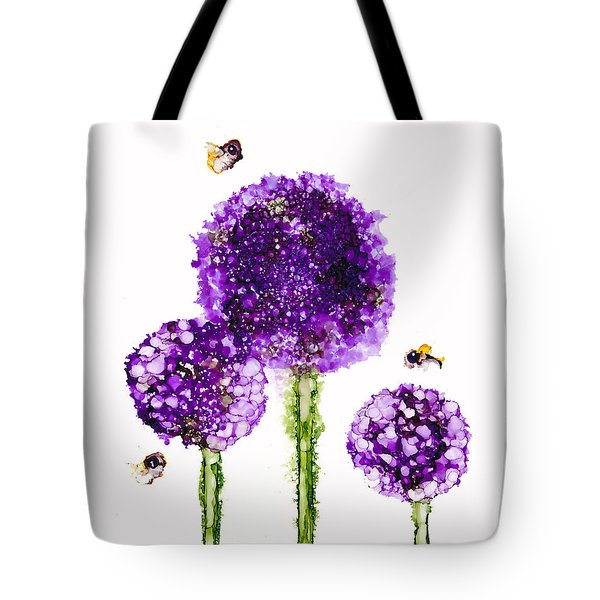 Alliums Humming Tote Bag