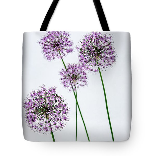 Alliums Standing Tall Tote Bag