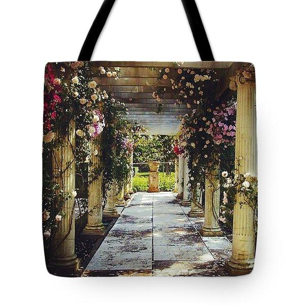 A Gilded Rose Garden  Tote Bag