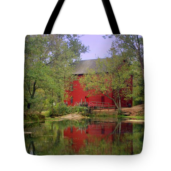 Allsy Sprng Mill 2 Tote Bag by Marty Koch