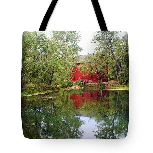 Allsy Sprng Mill Tote Bag by Marty Koch