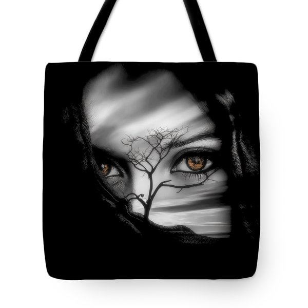 Allure Of Arabia Brown Tote Bag by ISAW Gallery