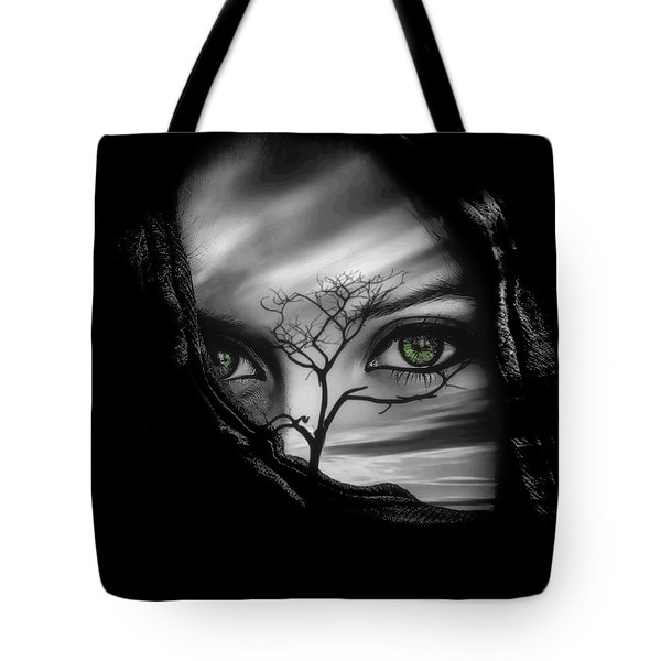 Allure Of Arabia Green Tote Bag by ISAW Gallery