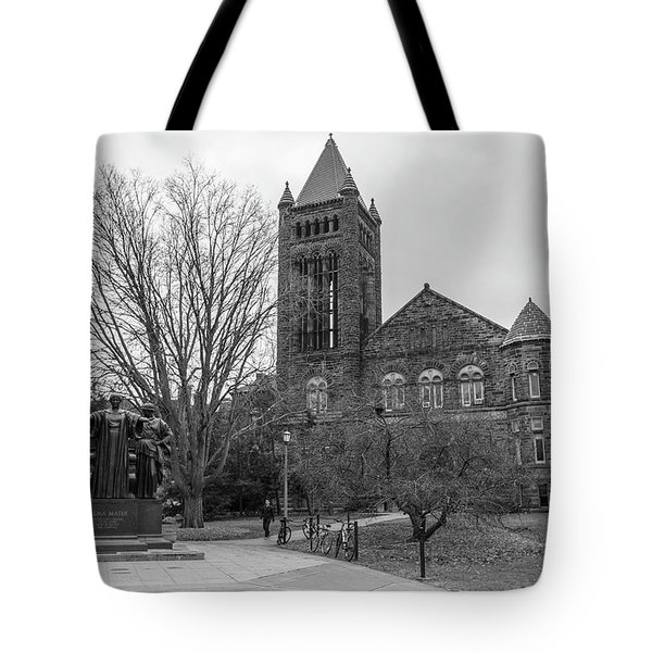 Alma Mater And Law Library University Of Illinois  Tote Bag