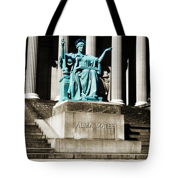 Alma Mater Tote Bag by Marilyn Hunt