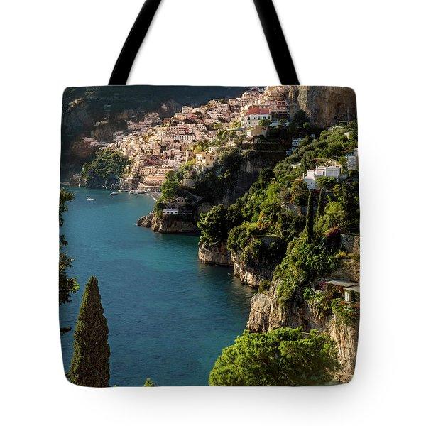 Almalfi Coast Tote Bag by Brian Jannsen