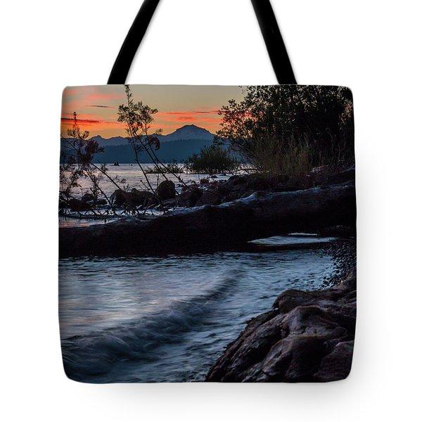 Almanor Driftwood Tote Bag