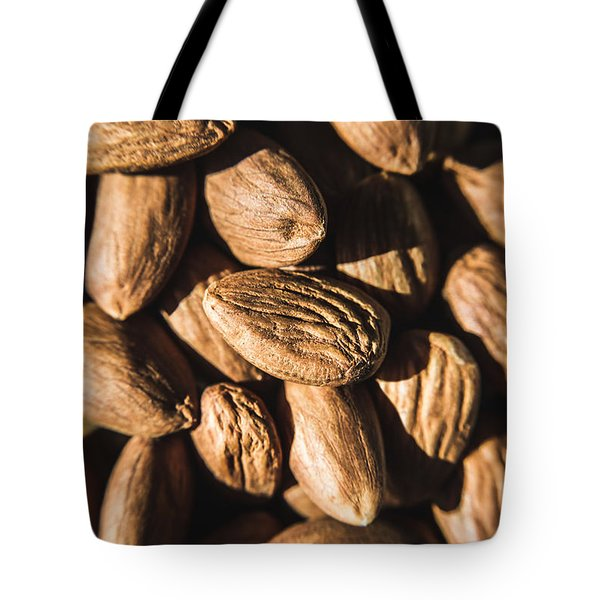 Tote Bag featuring the photograph Almond Nuts by Jorgo Photography - Wall Art Gallery
