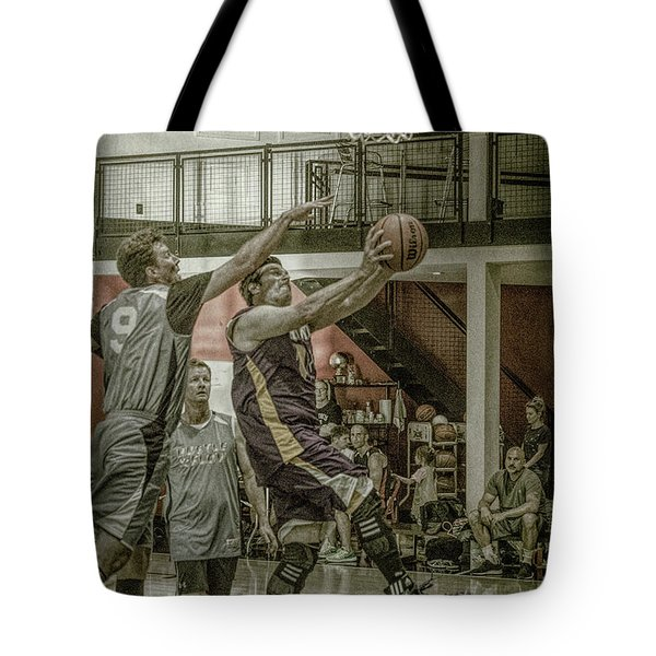 Tote Bag featuring the photograph Almost Blocked by Ronald Santini