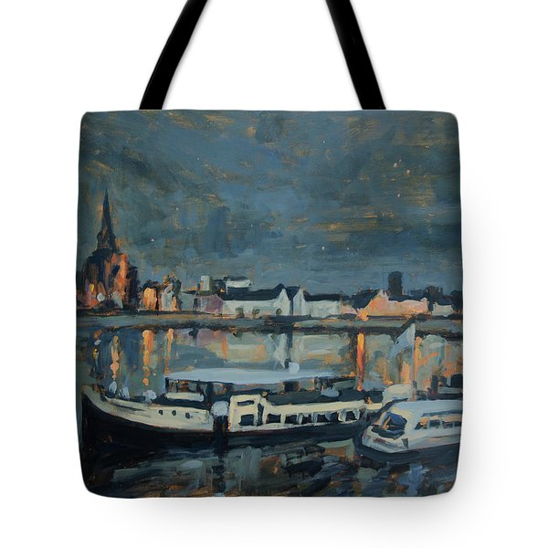 Almost Christmas In Maastricht Tote Bag