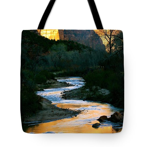 Almost Dusk Tote Bag