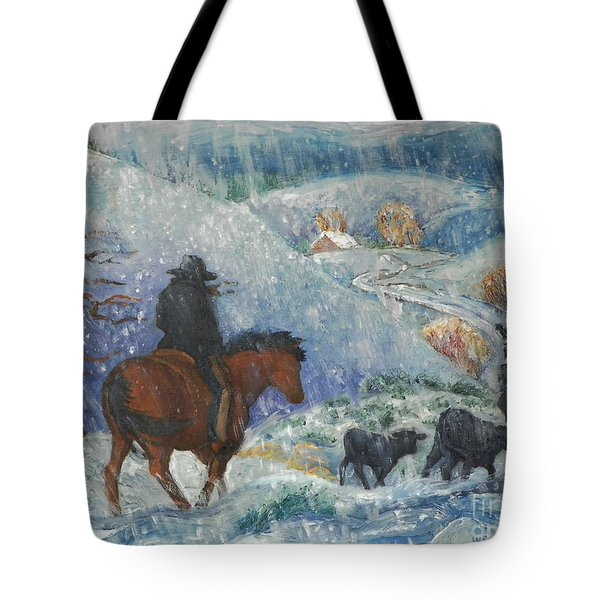 Almost Home Tote Bag by Dawn Senior-Trask