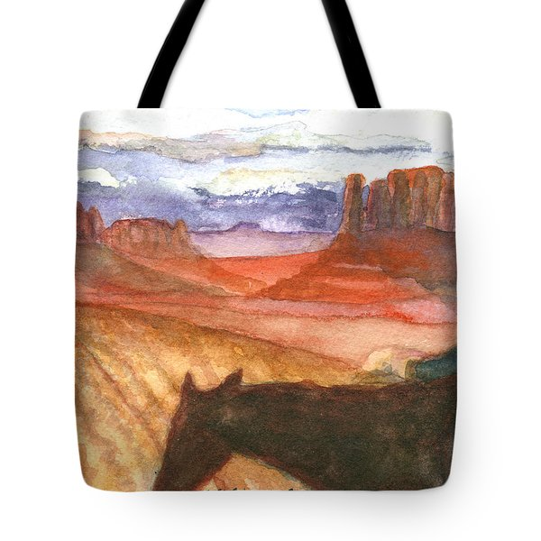 Tote Bag featuring the painting Almost Home by Eric Samuelson