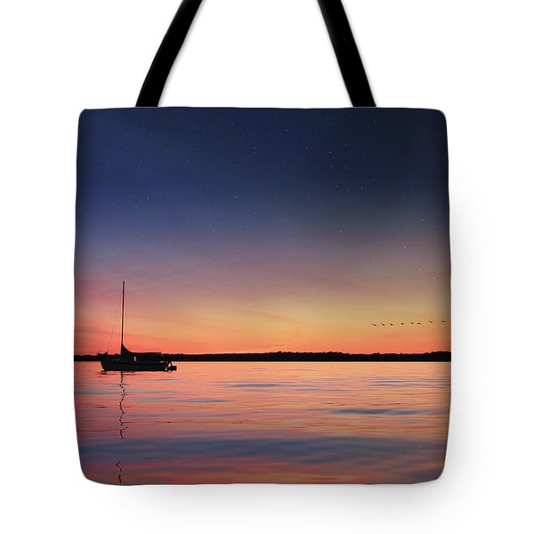 Tote Bag featuring the photograph Almost Paradise by Lori Deiter