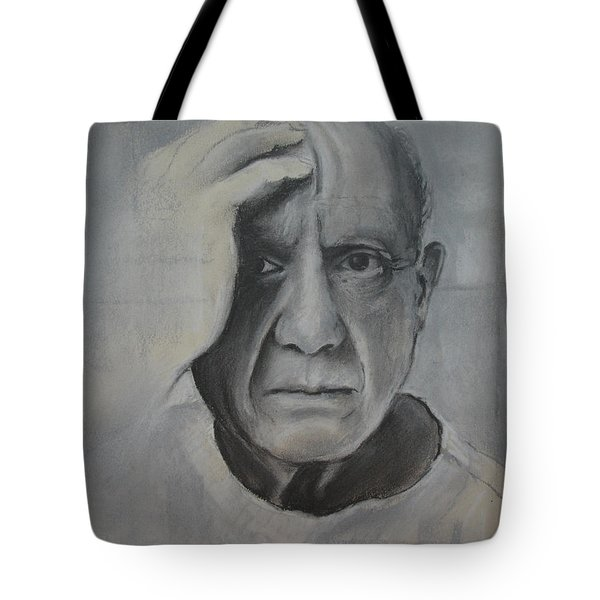 Almost Picasso Tote Bag by Allison Ashton