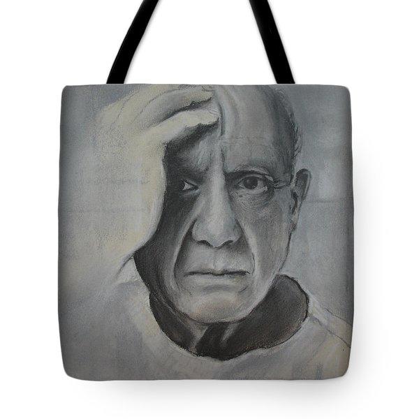 Almost Picasso Tote Bag