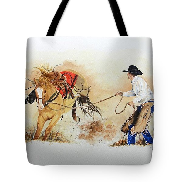 Almost Ready Tote Bag by Jimmy Smith
