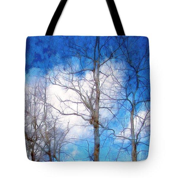 Almost Spring Tote Bag by Spyder Webb