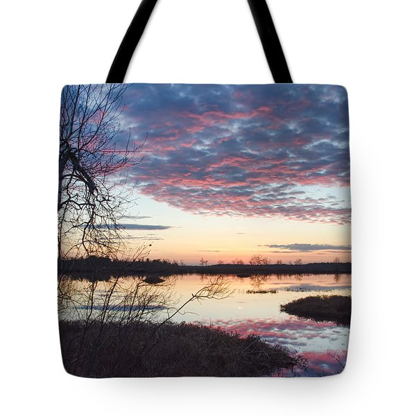 Almost Spring Sunset Tote Bag