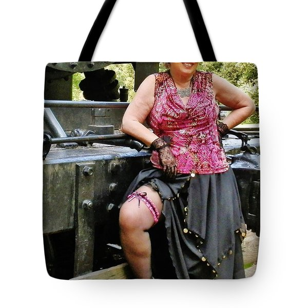 Almost Steampunk Tote Bag