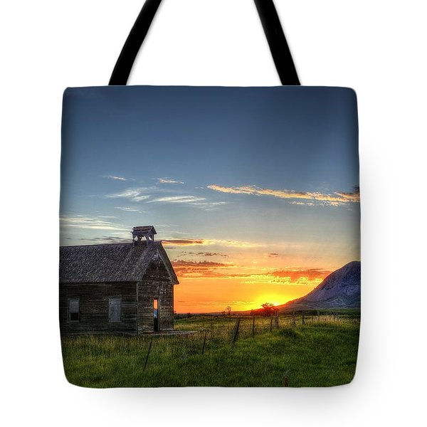 Almost Sunrise Tote Bag