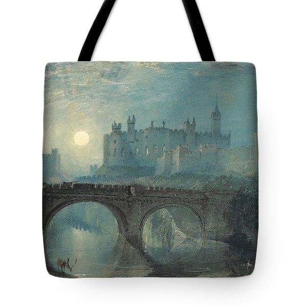 Alnwick Castle Tote Bag by Joseph Mallord William Turner