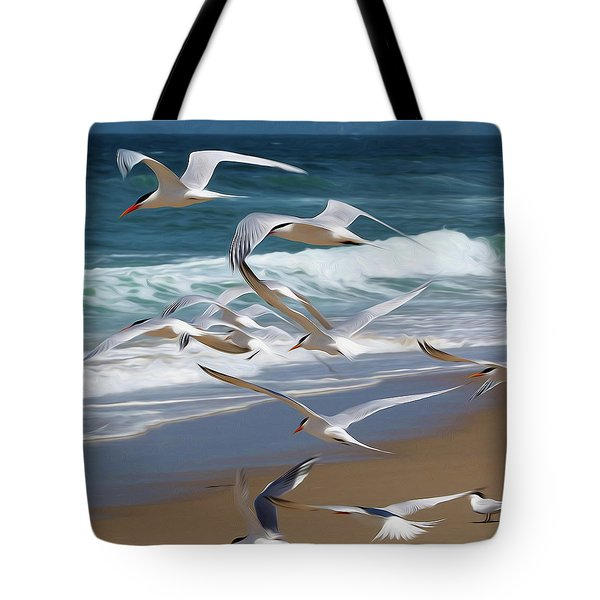 Aloft Again Tote Bag