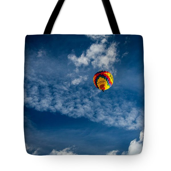 Tote Bag featuring the photograph Aloft by Ross Henton